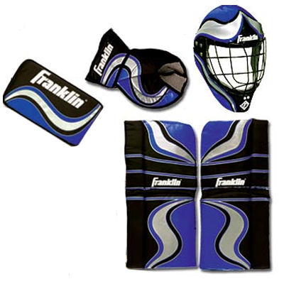 Franklin Shot Zone™ Mini Hockey Goalie Equipment & Mask (7936)