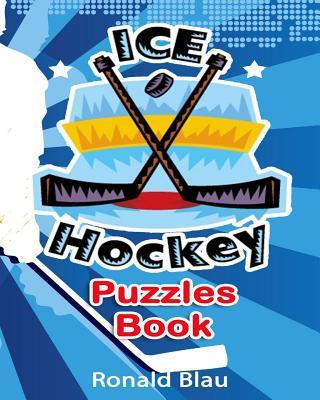 Ice Hockey Puzzles Book