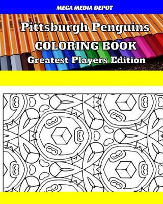 Pittsburgh Penguins Coloring Book Greatest Players Edition