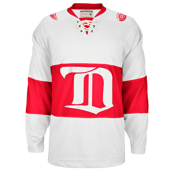 REEBOK 7270 NHL Team Classic Jersey- Detroit