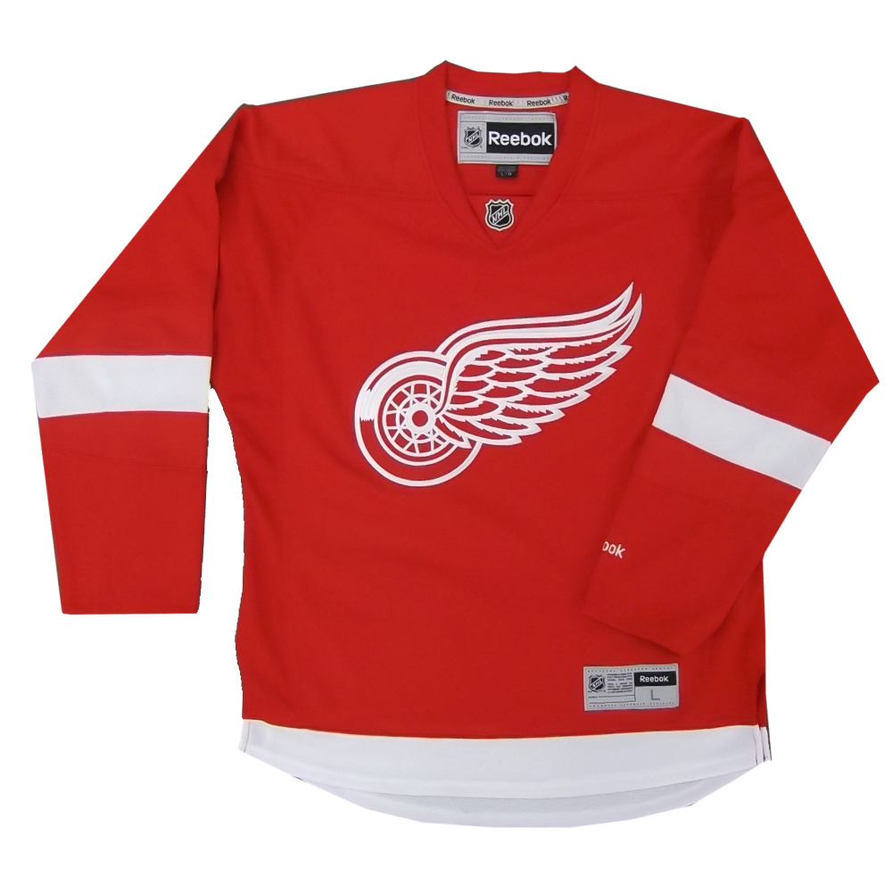 Reebok 7185 Center Ice Premier NHL Team Jersey- Detroit Sr