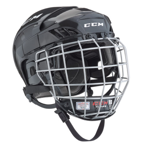 CCM Fit Lite 40 Hockey Helmet Combo- Jr