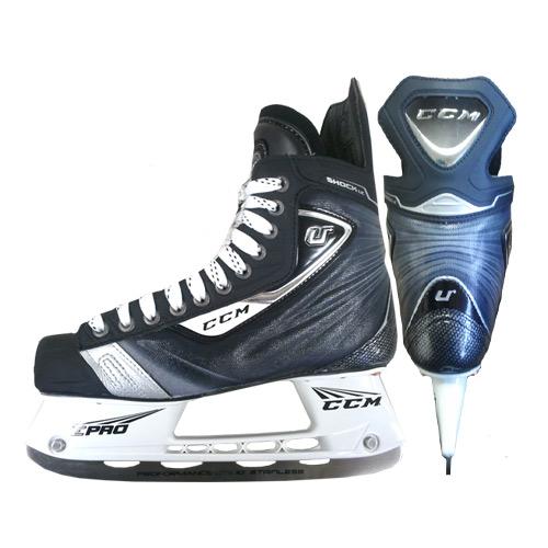 CCM U+ Shock LE Hockey Skate- Jr