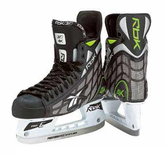 RBK 4K Hockey Skates (2007)- Junior