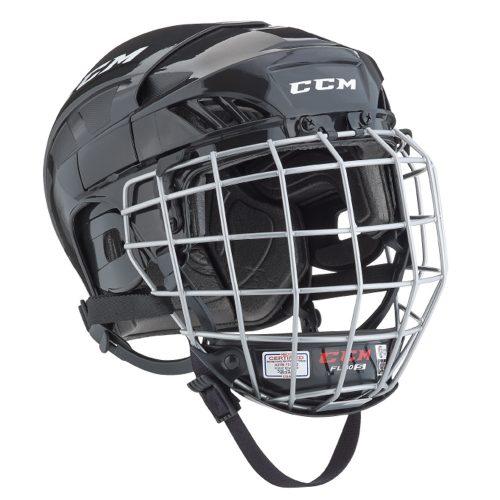 CCM Fit Lite 40 Hockey Helmet Combo- Jr