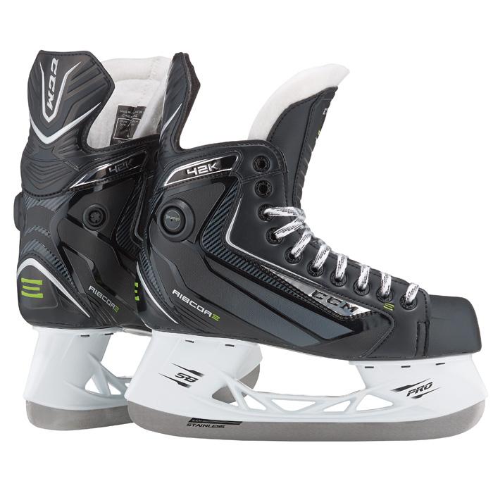 CCM Ribcor 42K Pump Hockey Skate- Jr