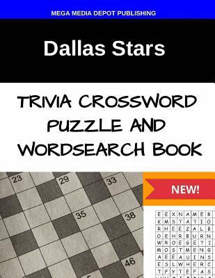 Dallas Stars Trivia Crossword Puzzle and Word Search Book