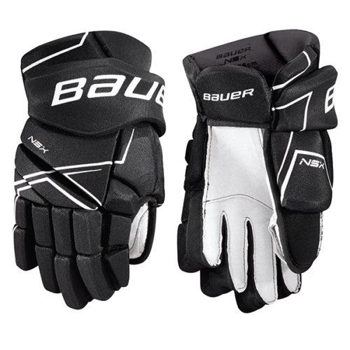 BAUER NSX Hockey Gloves- Jr